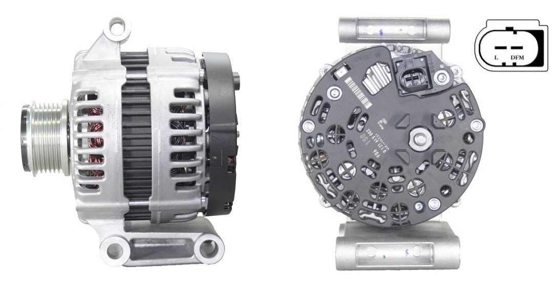 Alternátor Bosch 0121615002 14V 150A